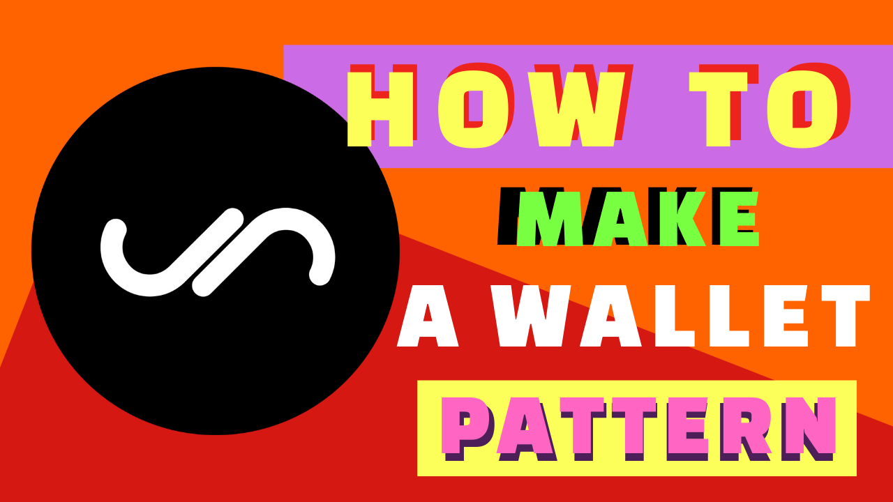 How to Make a Handmade Leather Wallet Pattern [Video]