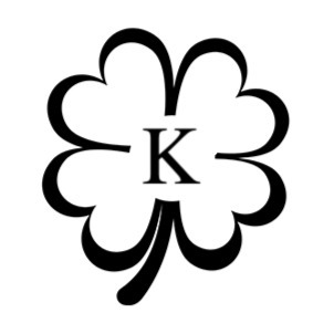 four leaf clover monogram