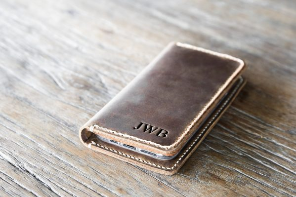 monogram #1 iPhone case