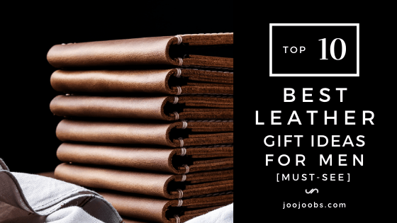 leather gift ideas for men